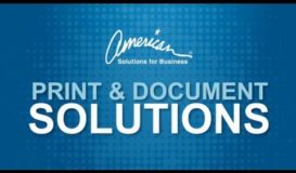 Print & Document Solutions | American Solutions for Business